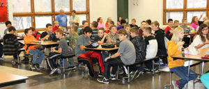 WMS lunch room