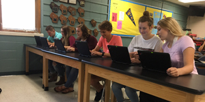 Students Using Devices